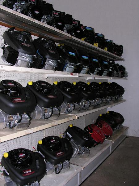 Motoren von Honda, Briggs & Stratton und Kohler auf Lager