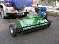 Anhängeschlegelmulcher ATV120 1,15 m für ATV und Geländewagen Neugerät